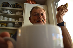 Home - He loves Coffee (Cameron McGhie) Tags: coffee latte mug grandad grandpa oldman streetphotography homephotos homephoto nikon 1855mm 1855 18to55mm 18mm bokeh bokehphotograpgy cup coffeecup cameronmcghie nikond5300 goodmorning morning goodvibes smile smiling happy joy 2017 new