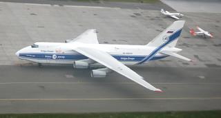 Antonov An-124 in Billund Airport