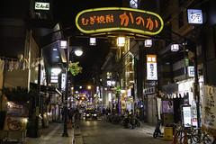 Nightlife in Hiroshima... part 1 (Zoltán Melicher) Tags: hiroshima chgokuregion japan asia sony nex7 sel1670z variotessarte41670 carlzeiss zeiss night nightscape nightlife city cityscape party zone modern mirrorless apsc art building neon table nagarekawa red light