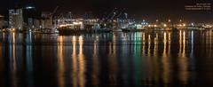 Bay at night XIII