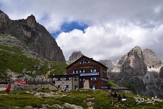 Rifugio Roda de Vael - Val di Fassa Italy.