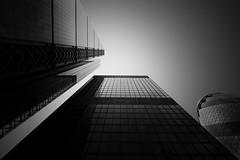 London (SeanAshtonPhotography) Tags: architecture black white winter bw leefilters gherkin contrast outdoor cityscape photography moody cloud minimalist fineart monochrome london mono canon high 500px