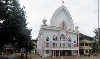 Karmala Matha Church or Our Lady of Mount Carmel Church, Chettupuzha, Thrissur - 1