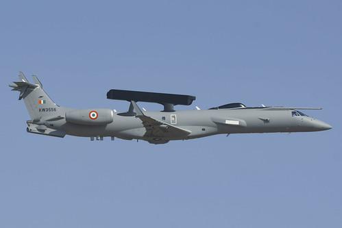 KW3556 ERJ145 IndiaAF 12389