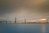 Puente de la Constitución (AvideCai) Tags: avidecai 7d cielo cádiz largaexposición nubes nisi filtro amanecer paisaje sigma1020