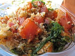 Poke Bowl5 (annesstuff) Tags: annesstuff food sushi hawaiian poke rice seafood tuna salmon seaweed masago sesame