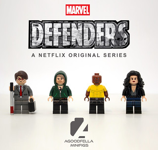 Defenders v.3 👿👊⛓���👩 [MCU] [MOC] [CUSTOM]