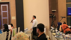Participant asks Dr. Widyawan a question (International Conference on Science and Technology) Tags: international conference science technology 2017 annual ugm icst bpp universitas gadjah mada badan penerbit publikasi asian network natural unnatural materials computer geomaritime omics genomics metabolomics infrastructure