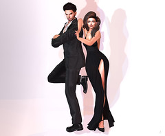 Mr. & Mrs. (Lightrona) Tags: mr mrs smith roleplay movie letre foxcity damselfly couples runaway maitreya catwa