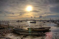 IMG_2522 (Edward Ha) Tags: 佳能 香港 canon hongkong 新界 newterritories 元郎 yuenlong 流浮山 laufaushan 日落 sunset outdoor landscape