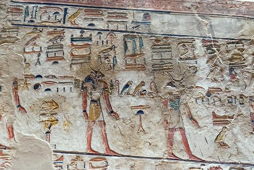 KV17, The Tomb of Seti I, Corridor D