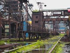 factory (MiaouPazz) Tags: steampunk factory rundown broken metal china building
