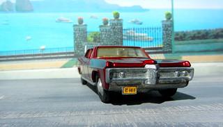Dinky Toys Pontiac Parisienne No. 173 1969 : Diorama PS2 GT4 Computer Game Backdrop Costa di Amalfi - 11 Of 16
