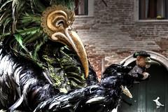 Birds in the venetian Carnival (Ruinenvogel) Tags: venice venezia venise venedig carnevale gondel gondola mask maske hdr casanova carneval costume maskball maskenball carnival birds