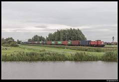 DBC 6431 - 62061 (Spoorpunt.nl) Tags: 2 augustus 2017 dbc db cargo 6431 acht container shuttle trein 62061 hogebrug