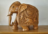 our souvenirs carved elephant (blob59) Tags: taj exotica hotel tourists south luxury holiday carved elephant wooden