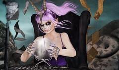 Calling All Spirits (Duchess Flux) Tags: theliaisoncollaborative thecoven fameshed uber gachagarden voluptasvirtualis aisling mello flitink astralia catwa deetalez arise erde schadenfreude ama unkindness secondlife sl dark fantasy magik wicca witchcraft seance