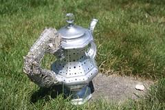 Wire Wrapped Boho DIY Lantern Teapot (blackunigryphon) Tags: boho bohochic bohemian gypset gypsetter whimsy whimsical crystals lantern decor decorations bohostyle bohodecor instillationart diy customized canon eclectic newage hippiechic