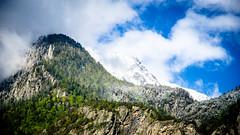 Contrast, Saillon, Switzerland (Roubaka) Tags: landscape paysage montagne alpes alps mountains valais rhonevalley switzerland suisse snowscape winterlandscape dramatic hike