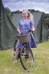 _DSC6446 (stilk50) Tags: girl woman 40s 40sevent pateley pateleybridge bike