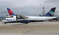 PR-AQH (renanfrancisco) Tags: azul azu azulairlines azullinhasaereas azulbrazilianairlines ad atr72 atr atr72600 aerospatiale gru sbgr gruairport guarulhosairport aeroporto airport airlines aeropuerto praqh spotting