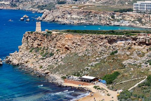 Вид на пляж Айн Туффиха