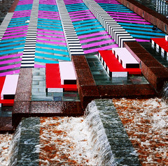 IMG_3653 (Kathi Huidobro) Tags: camillewalala graphics graphicdesign art ldf17 london design publicart artinstallation patterns stripes stairs architecture publicspaces waterfeature urban urbanscene