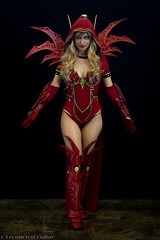 Japan_Expo_2017_Valeera_4573 (LeophotosCosplay) Tags: japanexpo cosplay paris costume photo jeuvidéo smile ii iii moba armure dagues dagger furtif armor cuir blizzard elfe cute elf valeera rouge videogame archange vanish medieval heroesofthestorm hots highelf fourbe warcraft azeroth fille femme girl