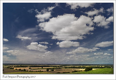 Lincolnshire Countryside (Paul Simpson Photography) Tags: paulsimpsonphotography imagesof imageof photoof photosof sonya77 sonyphotography countryside poloriser lincolnshire trentvalley august2017 clouds weather nature viewpoint sky landscape bigsky