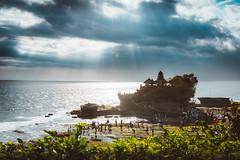 Pura Tanah Lot (Iftakhar Hasan) Tags: indonesia bali tabanan tanahlot tanahlottemple puratanahlot rockformation beach cloud lightrays sonyα6300 sonyepz1650mmf3556oss sony