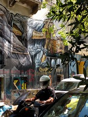Homeless - street art - Athens, Greece (ashabot) Tags: greece streetscenes street streetart graffiti exarchia