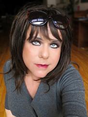 I raise my glasses to you :-) (Irene Nyman) Tags: brunette irenenyman sunglasses blueeyes dutch crossdress crossdresser tgirl transgirl blue eyes tranny boytogirl lips lipgloss cute babe