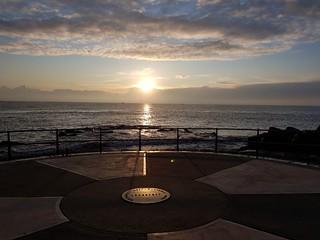 Ness point lowestoft Suffolk UK sunrise
