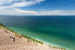 A Manitou View (matthewkaz) Tags: pyramidpoint lakemichigan greatlakes lake water island manitouislands southmanitouisland northmanitouisland sanddune sanddunes dunes sky clouds puremichigan summer michigan leelanau leelanaucounty 2017 sleepingbear sleepingbeardunes sleepingbeardunesnationallakeshore