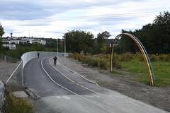 Sykkelveg Stavne 0082 (Miljøpakken) Tags: miljøpakken trondheim sykkelveg sykling sykkelrute syklister myke trafikanter