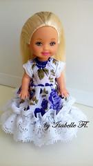 Kelly (Isabelle Fl...) Tags: doll dolls barbie little sister mattel kelly easter eggie child baby girl handmade dress