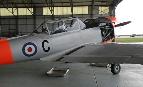 de Havilland Chipmunk T10. Gipsy Major 8 engine