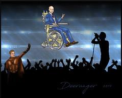 If Cherik went to a concert (The Deeranger) Tags: xmen charles xavier professor x magneto erik lehnsherr cherik concert digital drawing fanart