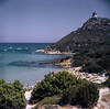 Sardinia - Porto Giunco (Medium Format) (tjreboot) Tags: sardinia italy vacation holiday beach kodak ektar 100 print film analog scan scanner color sharpness arax kiev 60 6x6 carl zeiss jena 50mm flektogon medium format