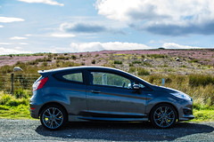 2016 Ford Fiesta Side Profile (smifyyy) Tags: ford forduk uk fordusa fordus us unitedstates unitedkingdom 2016 fiesta stline st zetecs sideview sideprofile countryside outdoors sun summer drives driving sport sportscar sporty turbo fwd sheffield