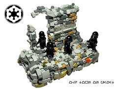 MOC Old town on pamat (vlad_shevtscov) Tags: starwars stormtroopers lego empire search diorama vignette