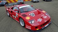 Ferrari 70th. Concours: F40 LM (AG512BBI) Tags: ferrari f40 lm f40lm red fiorano turbo racecar vehicle 70th anniversary supercar enzo italian italy maranello f50 laferrari 288 gto v8 sportscar