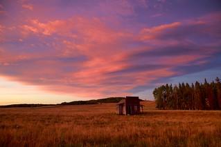 Sunrise Sept 11 cabin