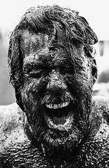 Mad Man / Wild Rooster Festival 2017 (zilverbat.) Tags: denhaag wildroosterfestival festival thehague people portrait mud portret image straatfotograaf straatportret blackwhitephotos postcard blackandwhite monochrome blackwhite noir face black blanco zwartwit zwartwitfotografie zilverbat grotemarkt thenetherlands timelife town muddy wrestling bokeh dof wet dramatic expressions expression wild magnum classic