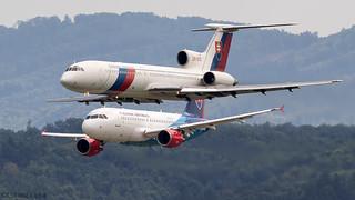 Tu-154M | A319 | Slovak Government
