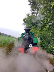 Impatience (Tanllan) Tags: wllr welshpool llanfair light railway wales heritage tourist railroad steam train superb bagnall