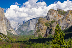 From Tunnel Viewpoint (doveoggi) Tags: 8025 california nationalpark yosemite waterfall clouds cliffs valley landscape