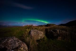 Aurora from Lough Salt