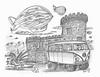Mocha (rod1691) Tags: bw scifi grey concept custom car retro space hotrod drawing pencil h2 hb original story fantasy funny tale automotive art illistration greyscale moonpies sketch