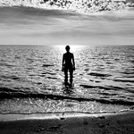 Summer farewell - Calabria, Italy - Black and white photography thumbnail